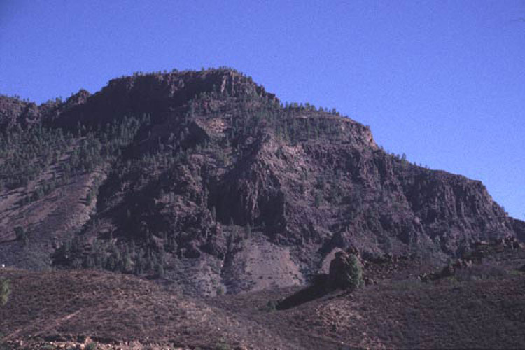 ecard 1005-berglandschap-in-zon